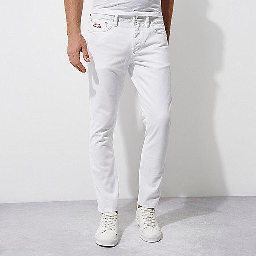 White Felipe Pantone jeans