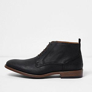 Zwarte chukka boots