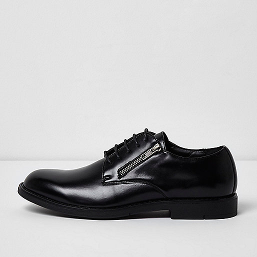 Mens Formal Shoes Black River Island