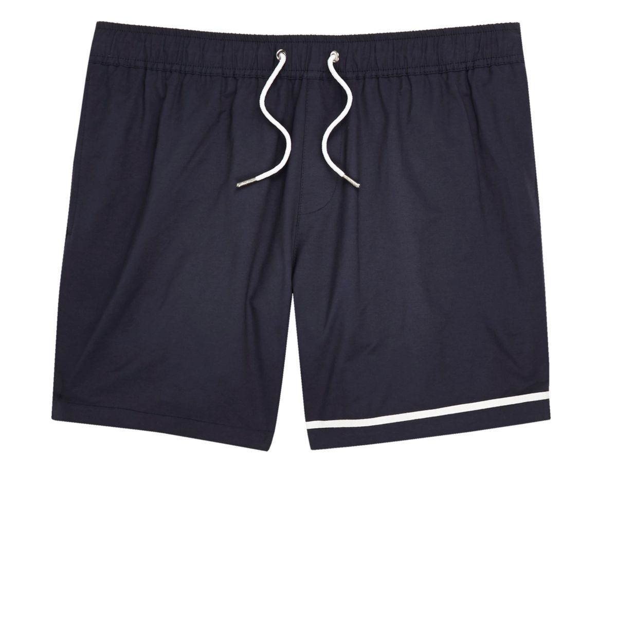 Big and Tall navy swim shorts
