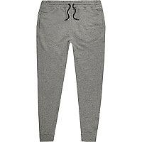 Pantalon de jogging en jersey gris