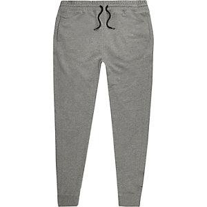 Graue Jersey-Jogginghose