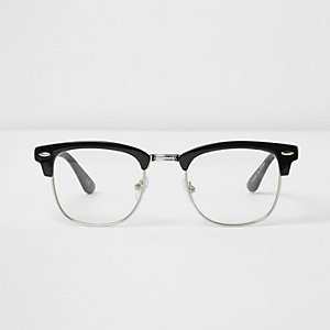 Black Jeepers Peepers half frame glasses