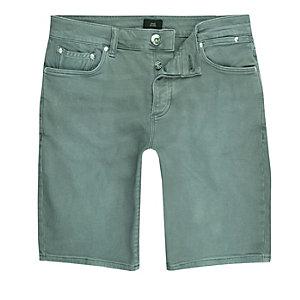 Skinny Fit Jeans in Petrol