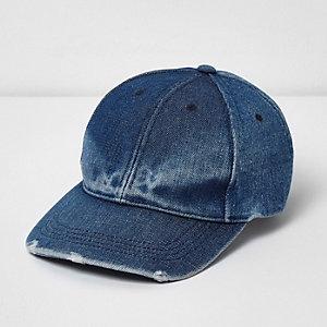 Blaue Jeans-Baseball-Kappe