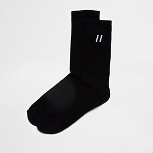 Black stripe tube socks