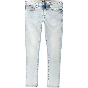Light blue Danny acid wash super skinny jeans