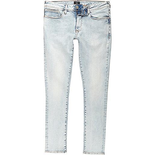 Light blue Danny acid wash super skinny jeans