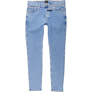 Light blue wash Sid skinny fit jeans
