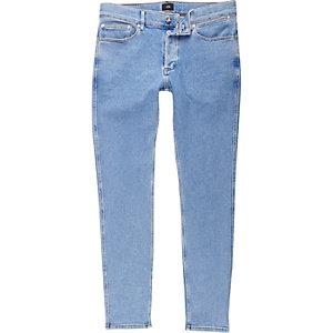 Sid - Lichtblauwe wash skinny-fit jeans