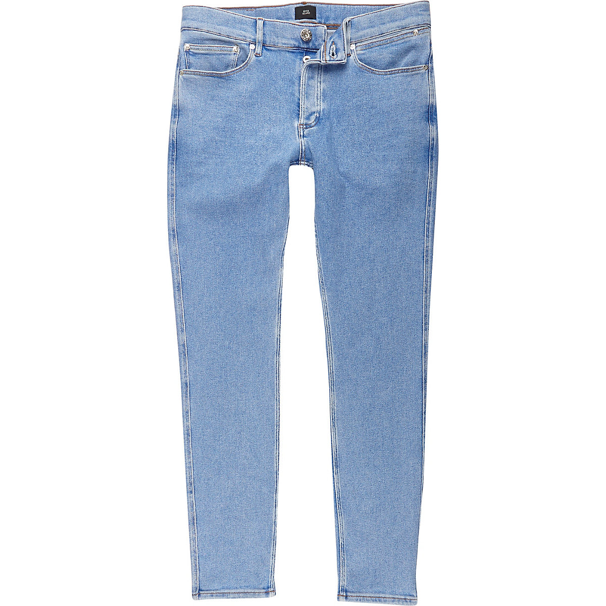 Light blue wash Sid skinny fit jeans