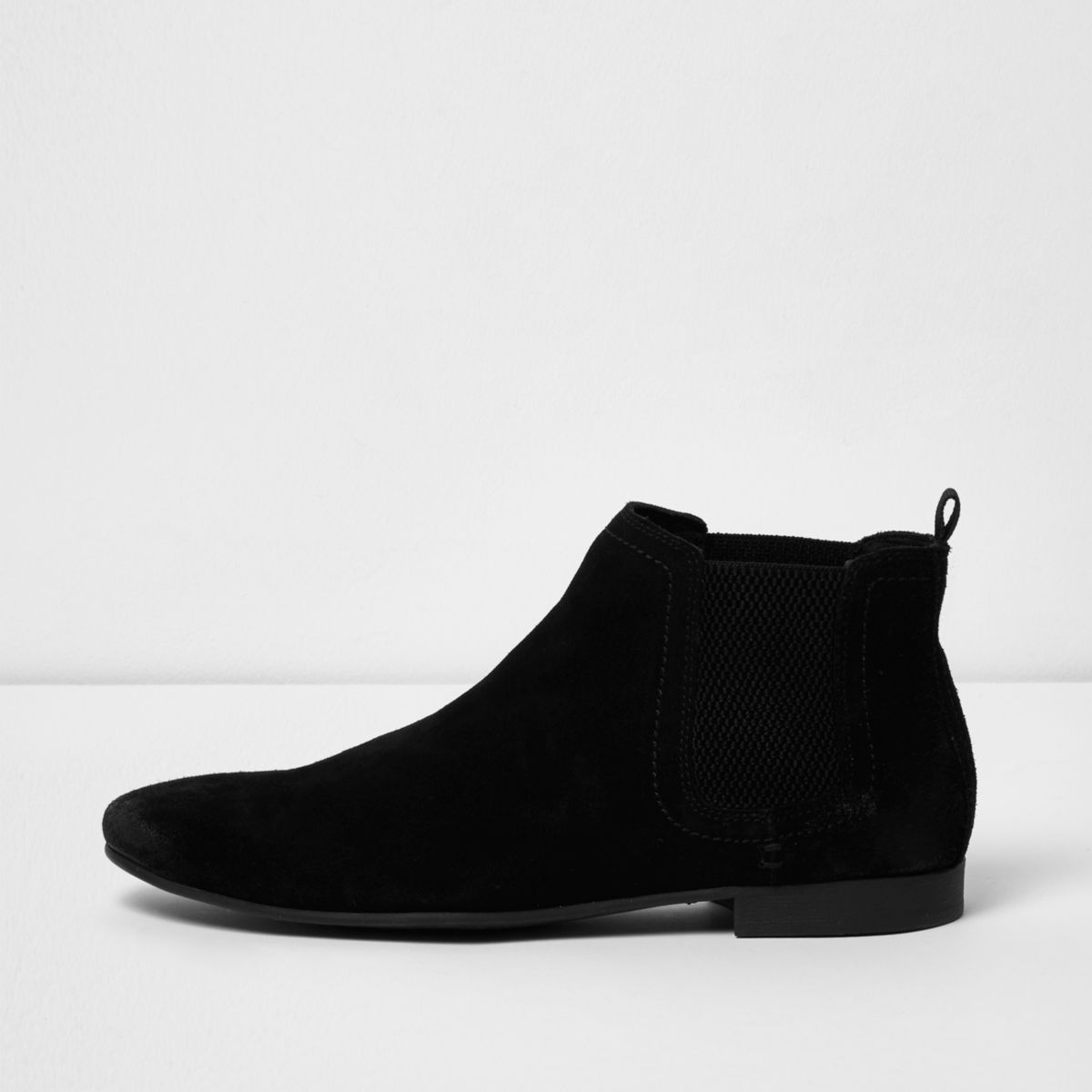 black suede chelsea boots boots shoes boots