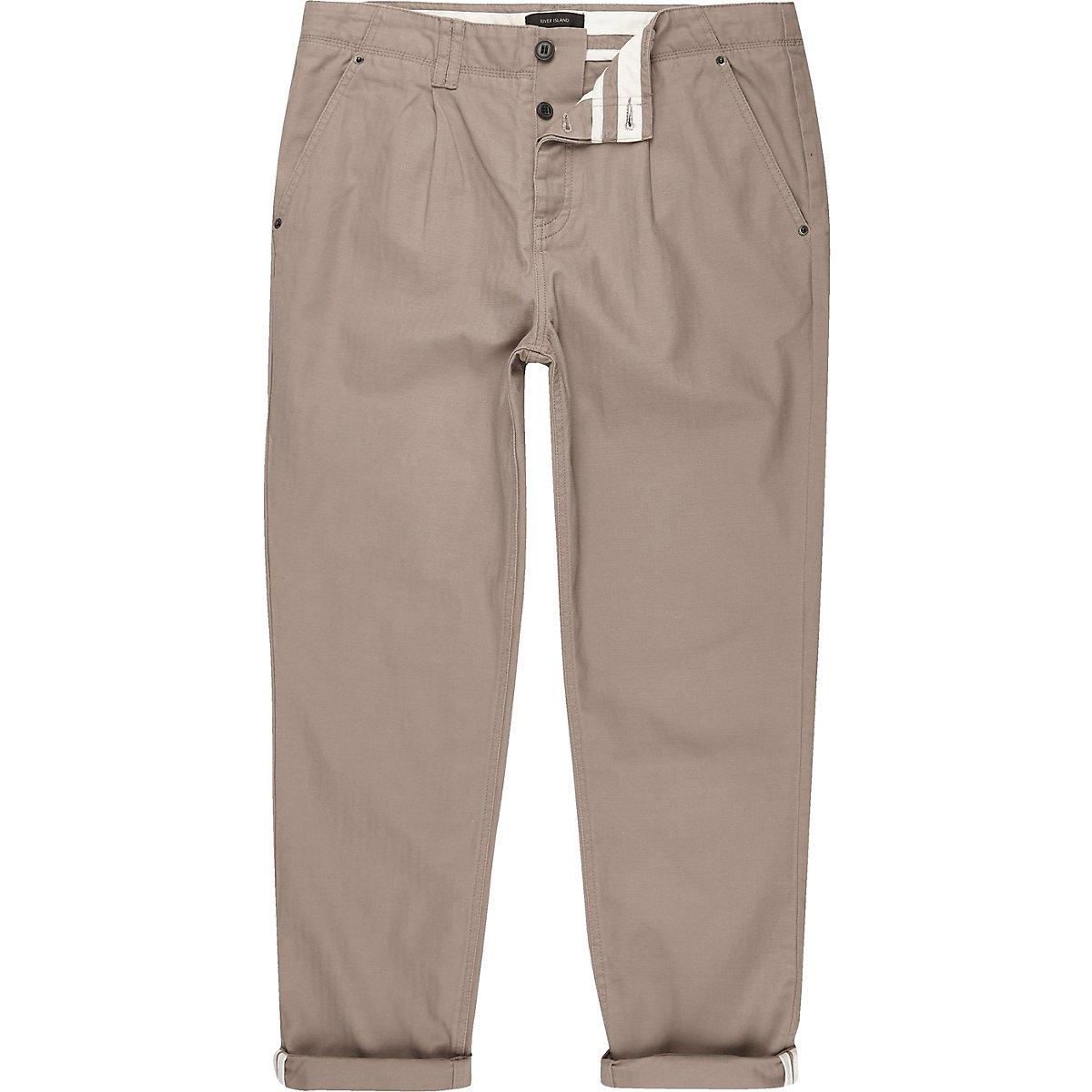 Stone wide leg pants