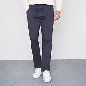 Pantalon bleu marine à enfiler