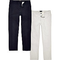 Lot de pantalons chinos
