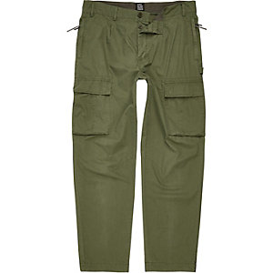 Khaki green Design Forum cargo trousers