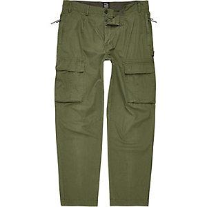 Khaki green Design Forum cargo trousers