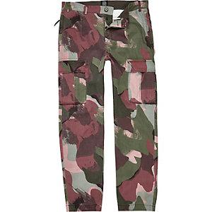 Design Forum – Pantalon cargo camouflage kaki