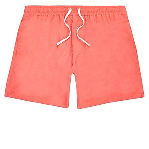Coral swim shorts