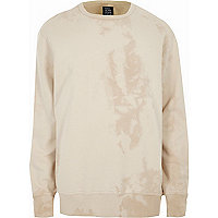 Cream Design Forum crew neck sweatshirt