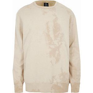 Design Forum – Sweatshirt in Creme mit Rundhalsausschnitt