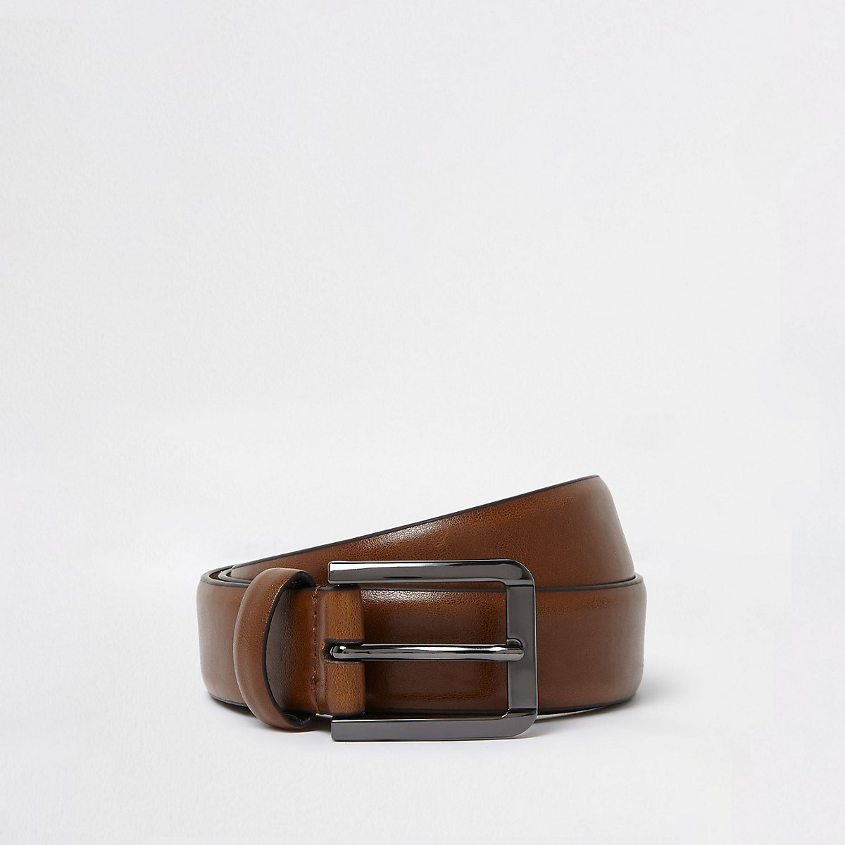 Tan brown smart belt