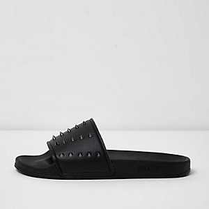 Black Slydes spike sliders