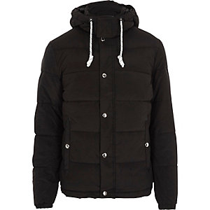 Black Jack & Jones hooded puffer jacket