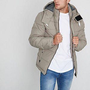 Stone Jack & Jones padded jacket