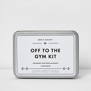 Men's Society 'Off To The Gym'-set