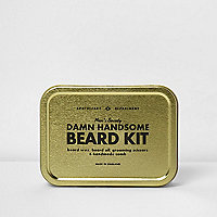 Men's Society 'Damn Handsome Beard Kit'