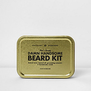 Men's Society – Damn Handsome Beard Kit