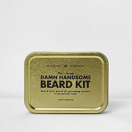Men's Society 'Damn Handsome Beard Kit'