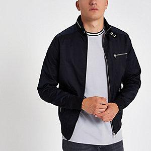 Schwarze, leichte Jacke