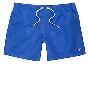 Cobalt blue swim trunks