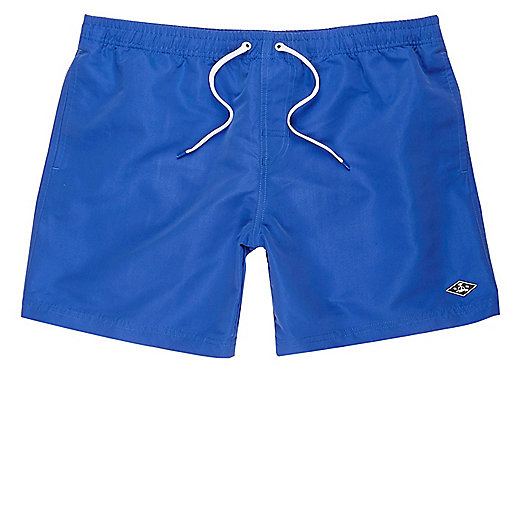 Cobalt blue swim shorts