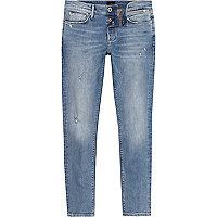 Sid – Jean skinny bleu clair usé