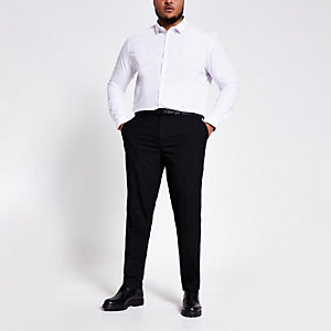 Big and Tall – Pantalon noir habillé