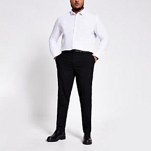Big & Tall - Zwarte nette broek
