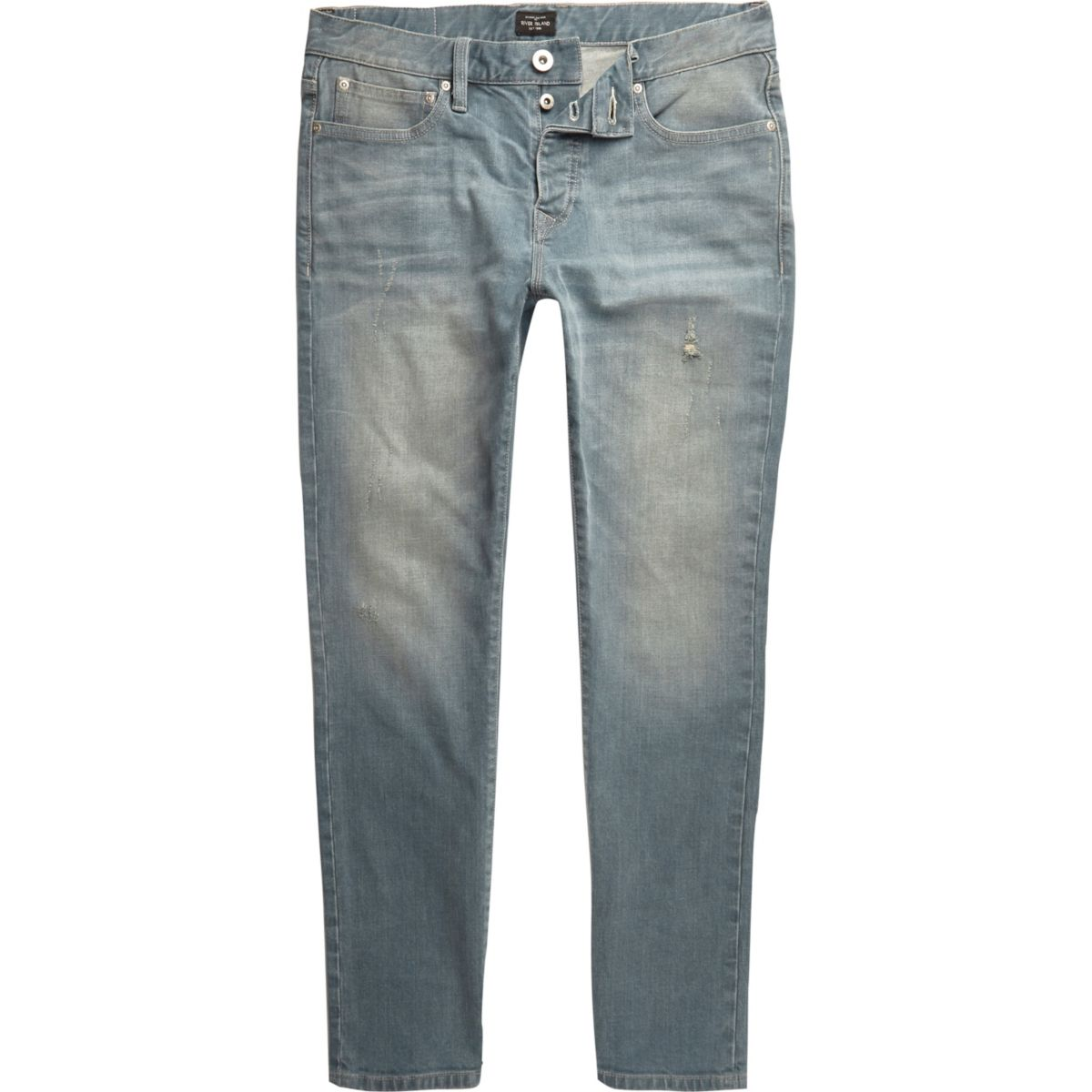 Mid blue faded Dylan slim fit jeans
