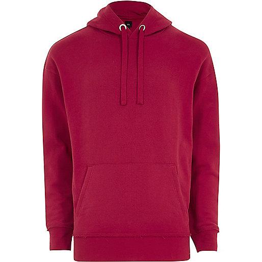 Pink slouch hoodie