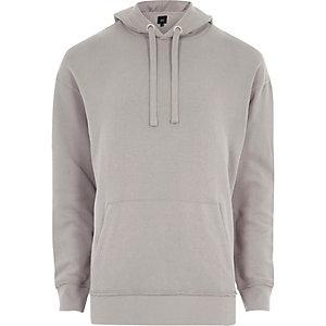 Grey slouch hoodie