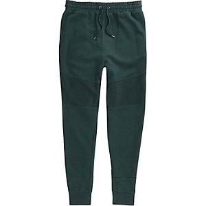 Pantalon de jogging ajusté vert foncé