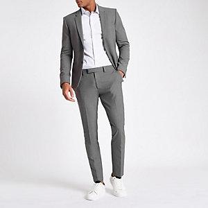 Grijze superskinny-fit pantalon