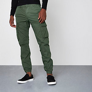 Cargo-Jogginghose in Khaki