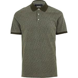 Jack & Jones Premium – Polohemd in Khaki
