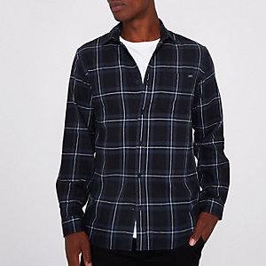 Jack & Jones zwart geruit overhemd