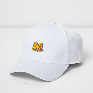 White 'NYC' cap