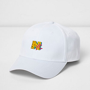 White 'NYC' cap