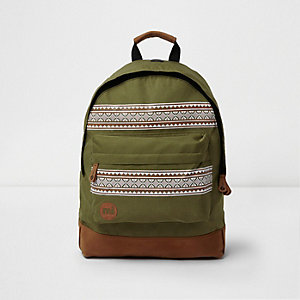 Dark green Mi-Pac nordic backpack